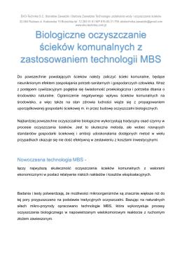 mbs komunalka ev - EKO