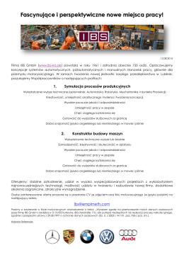 Rekrutacja- oferty pracy