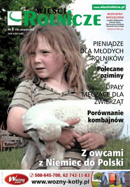 Z owcami z Niemiec do Polski