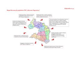 """Załącznik nr 4.4. Mapa kluczowych projektów POF """"Aktywne"""