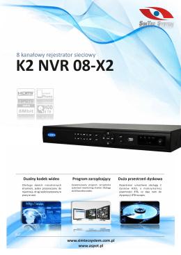 K2 NVR 08-X2