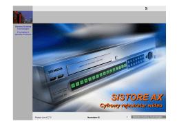 SISTORE AX wersja3.0