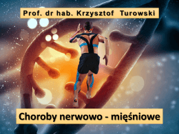 Postępujące dystrofie mięśni