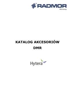 Katalog akcesoriów firmy Hytera (dmr_akcesoria_Hytera