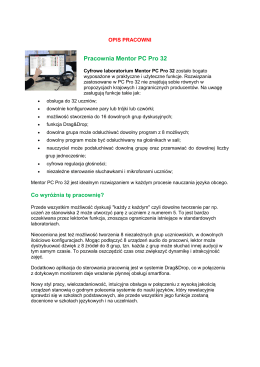 Pracownia Mentor PC Pro 32