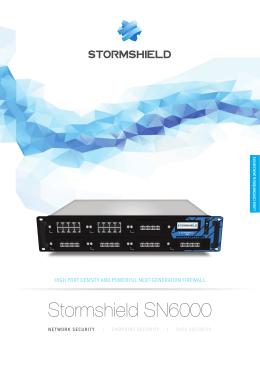 Stormshield SN6000 - BIT
