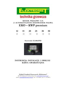 Instrukcja - Elektromet
