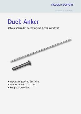 Dueb Anker - REUSS