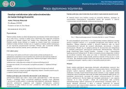 Emulsje wielokrotne jako mikrośrodowisko do badań biologii komórki