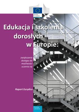 Edukacja i szkolenia dorosłych w Europie: