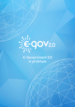 PDF: E-government 2.0 w praktyce. Casebook – studia - E