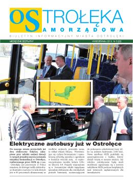 Elektryczne autobusy już w Ostrołęce
