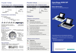 OpenStage 60/80 SIP