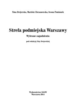 Strefa podmiejska Warszawy