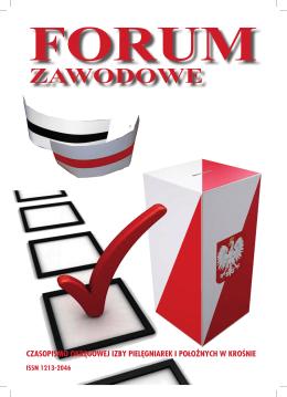 3(96)/2015 - Okręgowa Izba Pielęgniarek i Położnych w Krośnie