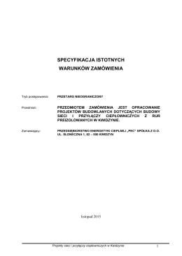 """Przedsiębiorstwo Energetyki Cieplnej """"PEC"""" Sp"""