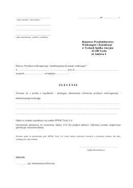 82 kB - Rejonowe Przedsiębiorstwo Wodociągów i Kanalizacji w