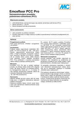 Emcefloor PCC Pro