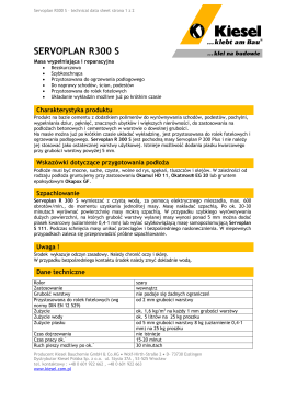 Servoplan R300S