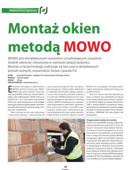 MOWO jest kompleksowym systemem umożliwiającym