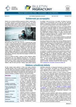 Pobierz PDF - Biuletyn Migracyjny