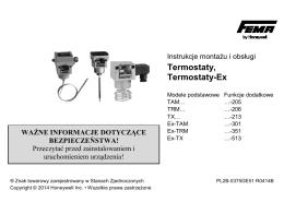Termostaty, Termostaty-Ex