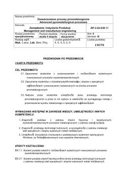 ZIP2_G3_D3K_11 Zaawansowane Procesy Pirometalurgiczne