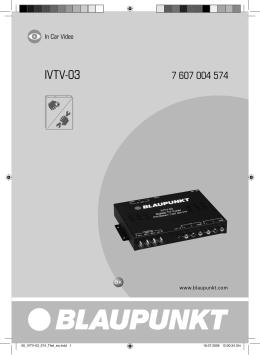 IVTV-03 - BLAUPUNKT