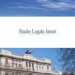 Broszura informacyjna Kancelarii Janari, wersja włosko