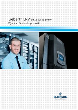 Wydajne chłodzenie sprzętu IT Liebert® CRV od 11 kW do 50 kW