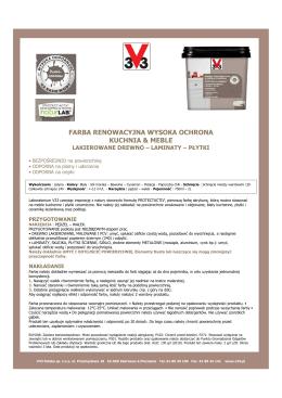 FT NATURLAB FARBA KUCHNIA - MEBLE POLOGNE 2014