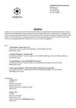 OFERTA - Ecokopter