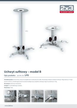 UPB - 2x3 SA