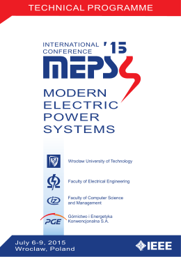 PDF file - Modern Electric Power Systems 2015