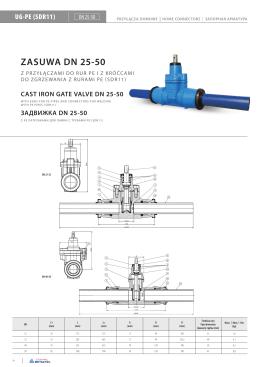 ZASUWA DN 25-50
