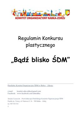 Do pobrania Regulamin konkursu - MOK - Rabka