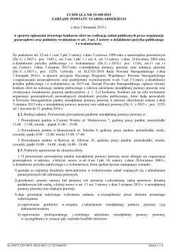 Uchwala Nr 32/189/2015 z dnia 3 listopada 2015 r.