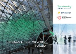 Retailer`s Guide 2015/2016 Poland