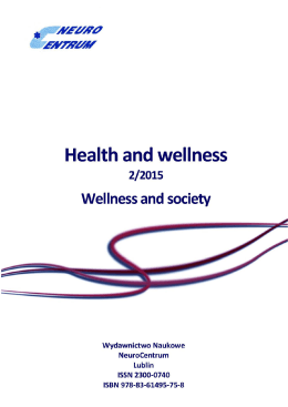 Wellness and society