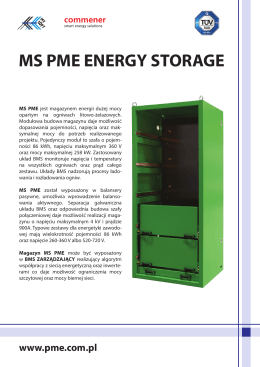 MS PME ENERGY STORAGE
