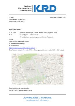 ul. Koszykowa 60/62 lok. 11, 00-673 Warszawa tel./fax. (+48) 22 623