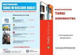 """""""TWÓJ DOM 2015"""" pdf - Biuro Promocji i Wystaw """"ASTRA"""""""