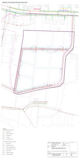 územní studie SO.06 - řešení technické infrastruktury