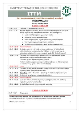 Program kursu