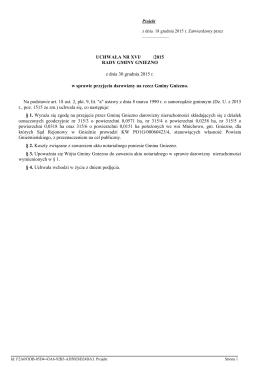 Uchwala Nr XVI/ /2015 z dnia 30 grudnia 2015 r.
