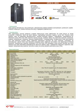 HIP330 10 – 80kVA - Fideltronik Inigo