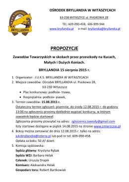 ZT Witaszyce 15.08.2015