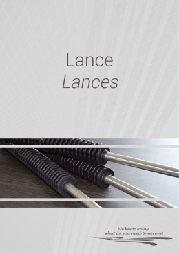 Lance - Zapraszamy do pobrania katalogu w wersji PDF.