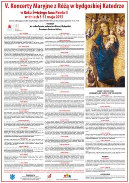 w Roku Świętego Jana Pawła II w dniach 3