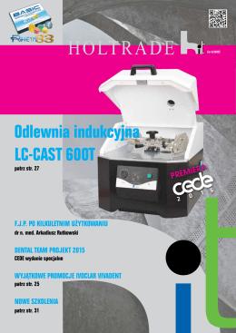 Odlewnia indukcyjna LC-CAST 600T